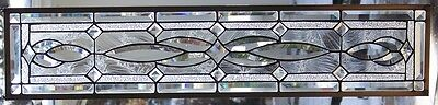 Stained Glass window hanging 35 X 7 3/4