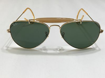 Ray Ban Outdoorsman RB3030 Arista/G-15 XLT 58mm Sunglasses