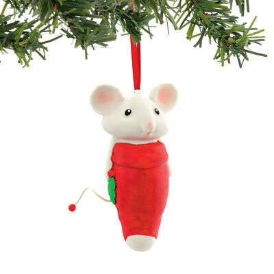 Dept 56 Merry Mice 4054952 Helpful Holly OrnamentNew 2016
