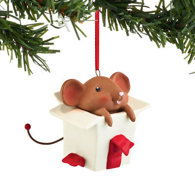 Dept 56 Merry Mice 4054951 Nosey Natalie Ornament New 2016