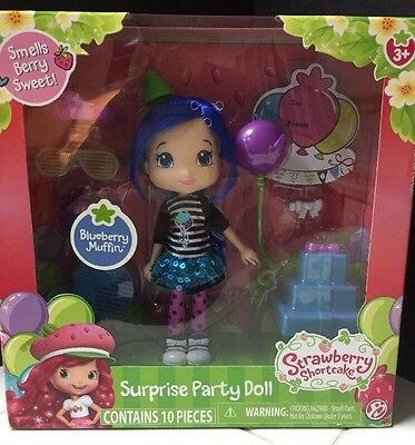 Strawberry Shortcake Blueberry Muffin Surprise Party Doll New!
