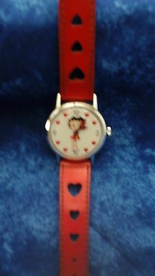 Collectible Vintage Betty Boop Watch Fron the 1980's Era