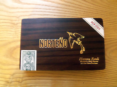DREW ESTATE NORTENO Coronita Wood Cigar Box FREE SHIPPING