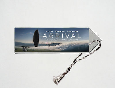 Arrival - Amy Adams - Jeremy Renner - Forest Whitaker - Movie Poster Bookmark #1