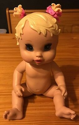 2006  Hasbro Baby Alive Sip n Slurp Doll, soft face.   Fast Free Shipping!