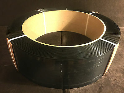 """Polyester Plastic Strapping - 5/8""""X.025""""X4400' - Clean Surplus Stock!"""