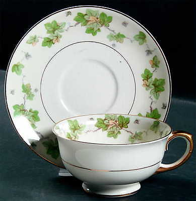Pope Gosser AMERICAN IVY Cup & Saucer 6226812