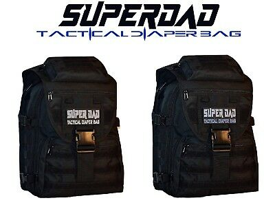 RadioActive Diaper Extraction Kit Tactical Diaper Bag Pack in OD + Free Item