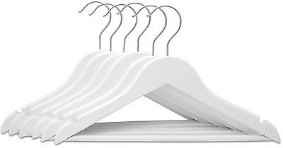 Childrens Wooden Hangers Lovely White Wood Hangers Set of 6 Kids Hangers