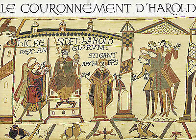 Official Bayeux Tapestry Embroidery kit - Coronation of King Harold