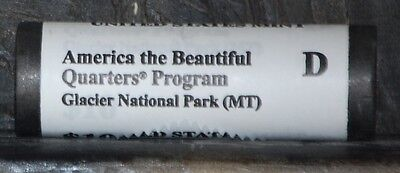 2011 D, ATB Glacier National Park (MT)  Quarter Roll US Mint Certified