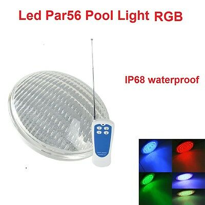 2016 Par56 LED Pool Light RGB 7 Color Led Underwater Swimming + Remote Control