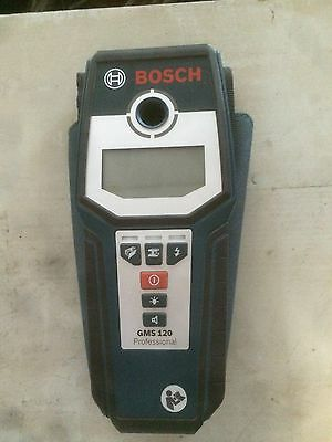 Bosch GMS120 Professional Digital Multi-Meterial Cable Detector Wall Scanner