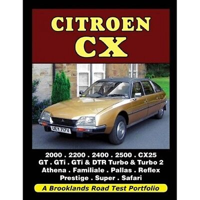 Citroen CX Road Test Portfolio book paper