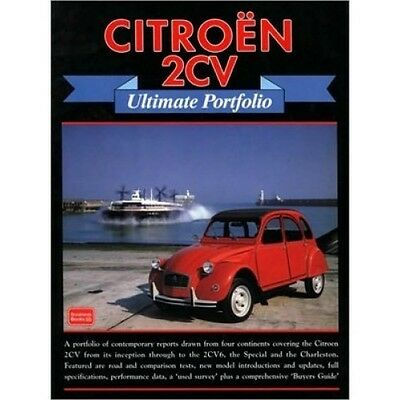 Citroen 2CV Ultimate Portfolio book paper