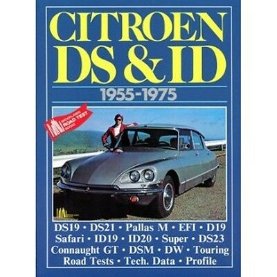 Citroen DS & ID 1955-1975 book paper