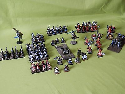Warhammer Dwarf Army Well Painted Metal - Many Units To Choose From
