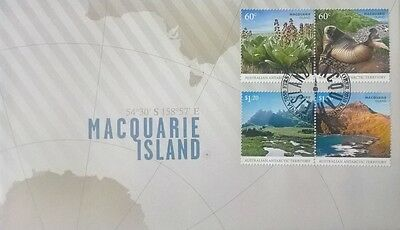 Australia Stamps, First Day Cover, Macquarie Island - 26/10/2010