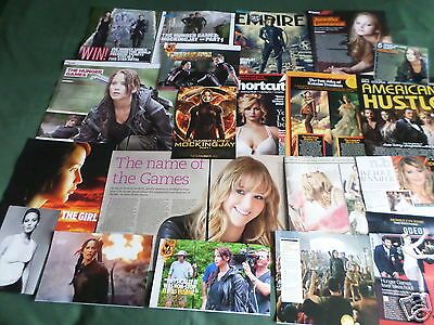 """Jennifer Lawrence - Film Star - """"clippings /cuttings Pack"""""""