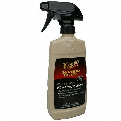 Meguiar's Mirror Glaze Final Inspection #34  473 ml 27,38EUR/Liter