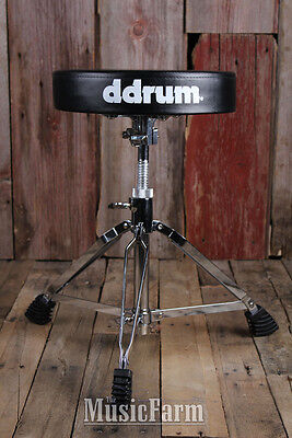 Ddrum RXDT2 Round Drum Throne Swivel Adjustment Double Braced Adjustable Height