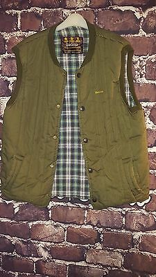 Barbour Green Large Body Warmer Hunting Shooting Fishing Size L