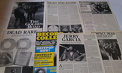 GRATEFUL DEAD Record Collector Articles (40 pages) Clippings Cuttings