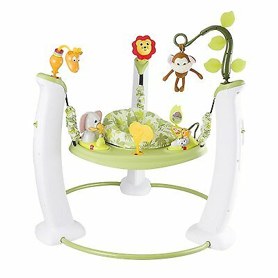 Evenflo Jungle Safari Friends Musical Jumper Exersaucer Activity Baby Gym NEW