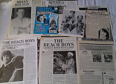 BEACH BOYS & BRIAN WILSON Record Collector Articles (110 pages) Clipping Cutting
