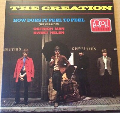 "The Creation 7"" Mint Psych Mod Freakbeat 45 Feel (US Version)3-track FREE UK P&P"