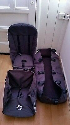 Bugaboo cameleon Compleet base fabric ( carrycot, Seat, and free basket )..