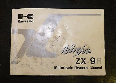 ZX9r B3 (1996) Owner's Manual