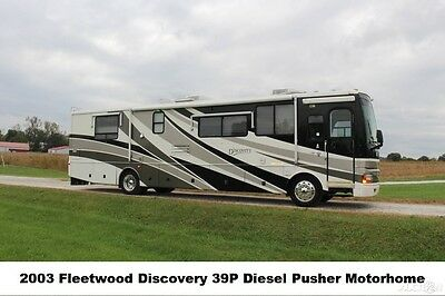 2003 Fleetwood Discovery 39P Used Diesel Pusher Slideouts