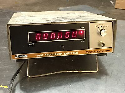 Bk Precision 1801 6-Digit Frequency Counter 20Hz To 40Mhz