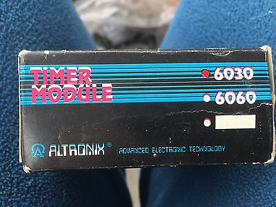 NEW IN  THE BOX  ALTRONIX 6030 Timer-Bell Cut Off, Timer