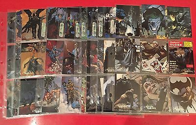 Batman Master Series Trading Cards Skybox 1995