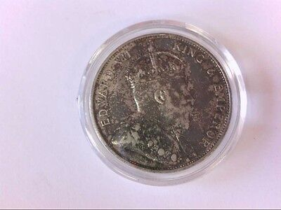 Decent 1905 Hong Kong Silver 50 Cents Silver Coin. COLLECTION READY!!