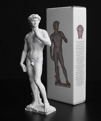 "Michelangelo Buonarroti Statue: ""David"" di Michelangelo 15 cm - Made in Italy"
