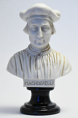 Statue Busto di Niccolò Machiavelli - Bust of Niccolò Machiavelli (Made in Italy
