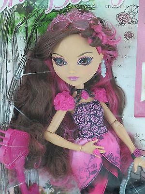New Barbie Ever After High BRIAR BEAUTY daugther of Sleeping Beauty