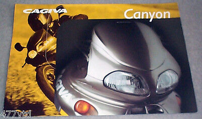 CAGIVA 500cc CANYON 1990s SALES BROCHURE