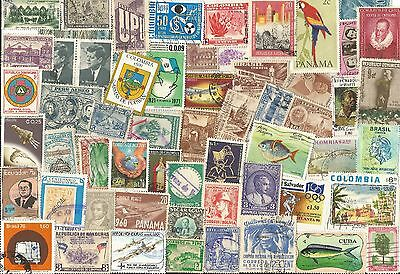 A Latin American Postage Stamp Lot