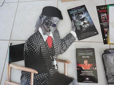 Tales from the Crypt Video Store Promotion Standee Poster Etc VERY RARE!