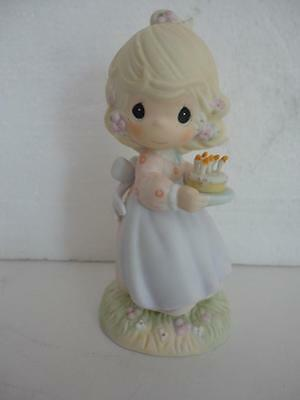 Precious Moments Figurine MAY YOUR BIRTHDAY BE A BLESSING 1990