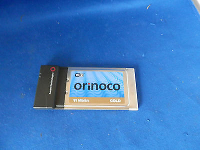 Lucent Technologies Orinoco Gold 11 Mbit/S Wireless PCMCIA Slot WIFi Card