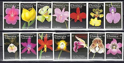 Dominica Mnh 1999 Orchid Flowers