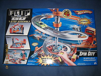 Hot Wheels Spin City Motorized Playset