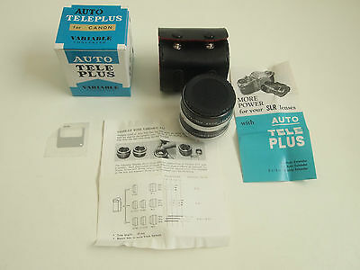 Auto Teleplus Converter x2 -3x For Canon CFE Variable Extender SLR Camera New