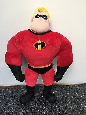 Disney Store Pixar The Incredibles Mr Incredible Plush Talking Soft Toy Doll 16""
