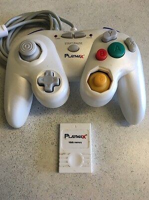 Playmax Classic Controller with 16MB Memory Card for Wii & Gamecube Aussie Stock